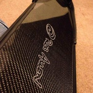 Carbon spearfishing fins