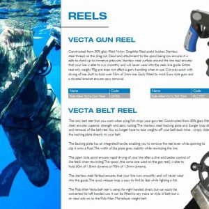 Rob Allen gun reel and belt reels