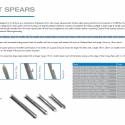 Speargun spears - Rob Allen