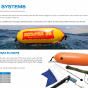 Spearfishing equipment - spearfishing floats