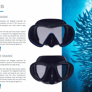 Rob Allen spearfishing mask