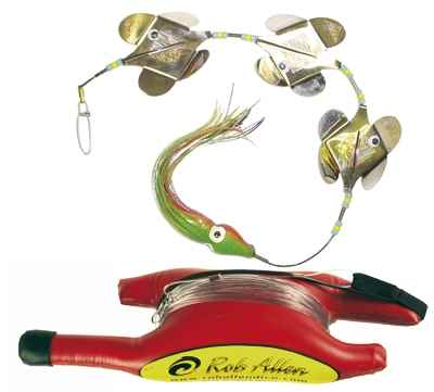 Rob Allen spinner flasher with float