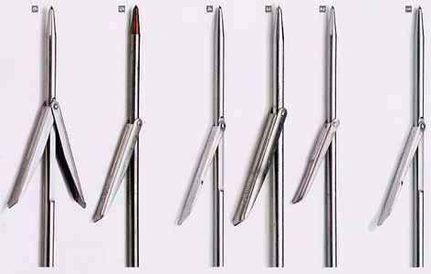 Speargun spears