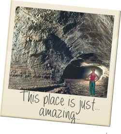 Lava tubes in The Azores