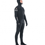 HECs wetsuit black side
