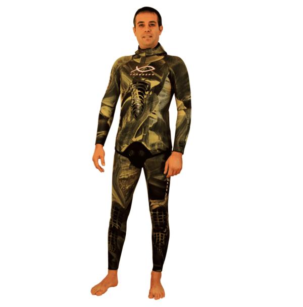 Jak Boeno Quartz Green full wetsuit