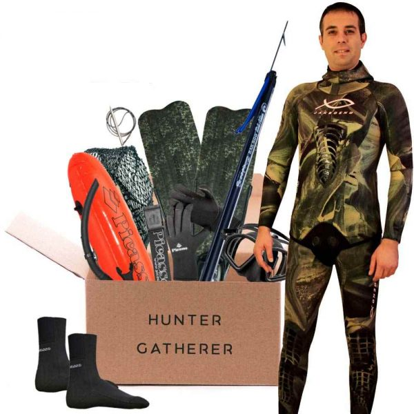 Spearfishing package hunter garherer