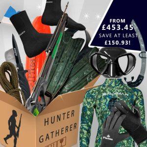 Hunter gatherer spearfishing gear package