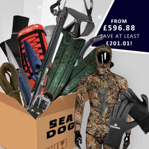 Sea dog spearfishing gear package