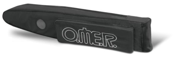 Omer single fins bag pvc black