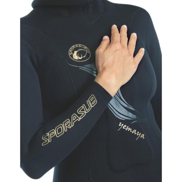 Omer Yemaya womens wetsuit front