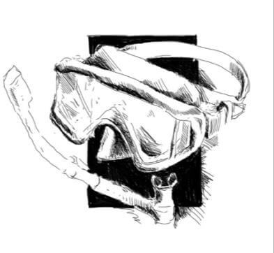 Spearfishing mask