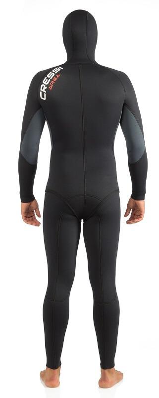 Cressi Apnea wetsuit back