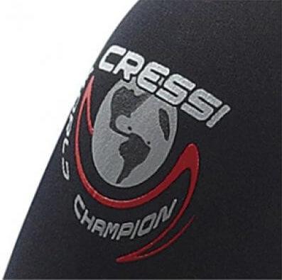 Cressi Apnea wetsuit logo