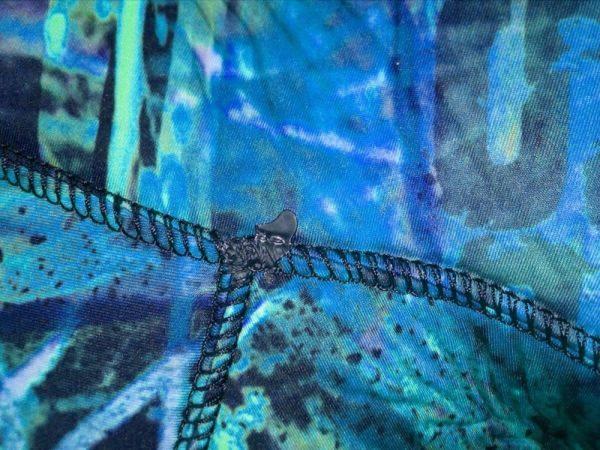 Epsealon Blue Fusion wetsuit closeup