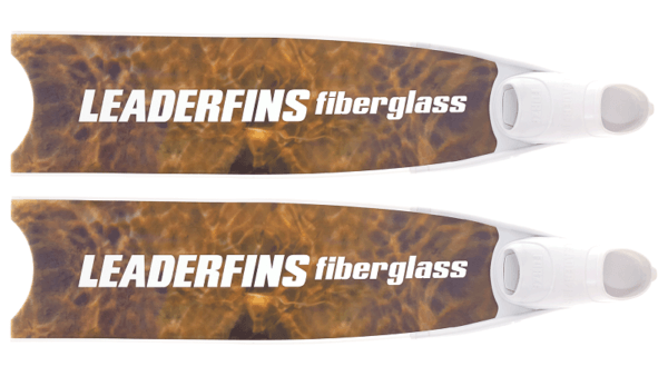 Leaderfins Algae 3D bi-fins white