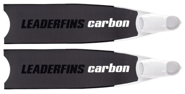 Leaderfins pure carbon bi-fins black