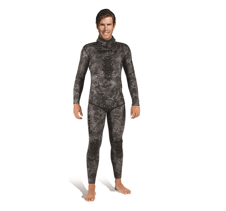 Mares Explorer Camo black open cell wetsuit | Spearfishing UK