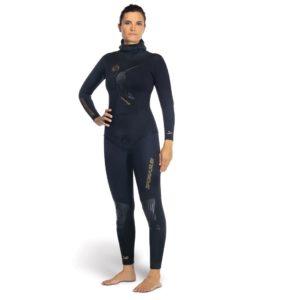 Omer Yemaya Womens full wetsuit black