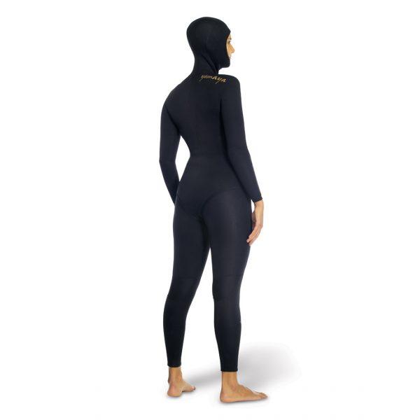 Omer Yemaya Womens wetsuit back