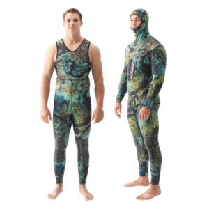 Riffe Digi-Tek farmer john wetsuit full wetsuit