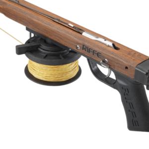 Riffe low pro horizontal reel handle
