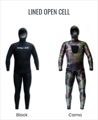 Lined Open Cell