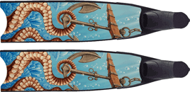 Spearfishing fins