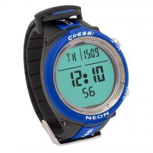 Cressi Neon Watch Computer blue