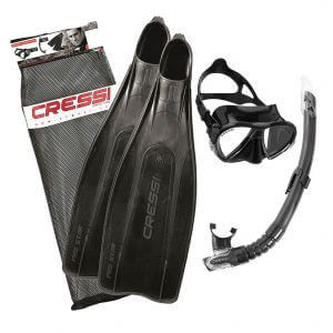 Cressi Pro Star Bag Snorkelling Set