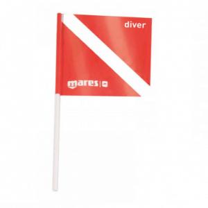 Mares Dive Flag 18,5 X 18,5 cm