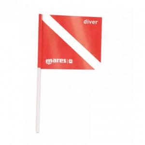 Mares Dive Flag 31,5 X 31,5 cm