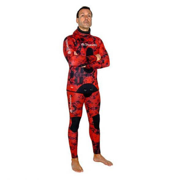 Picasso Blood camo wetsuit