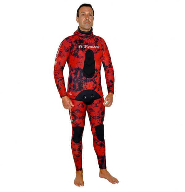 Picasso Blood camo wetsuit full suit