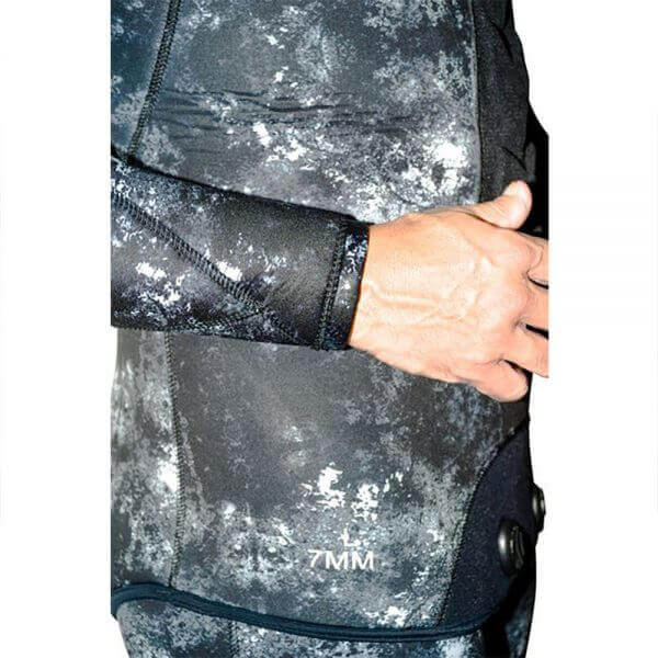 Picasso Camo Ghost wetsuit material