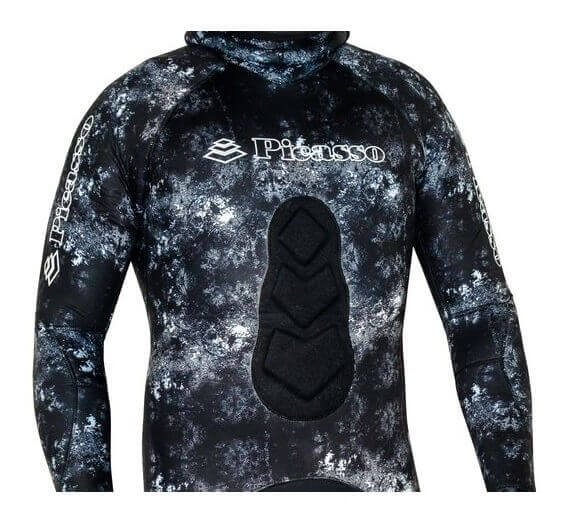 Picasso Camo Ghost wetsuit