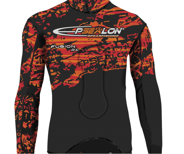 Epsealon Red Fusion Skin wetsuit