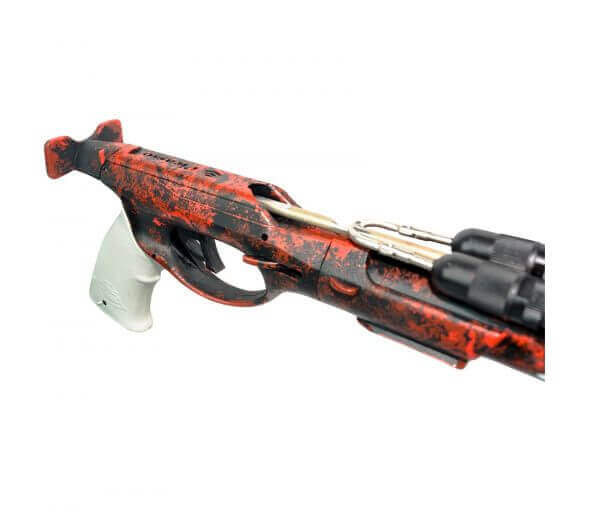 Picasso Cobra Rail Light Red Camo Speargun handle