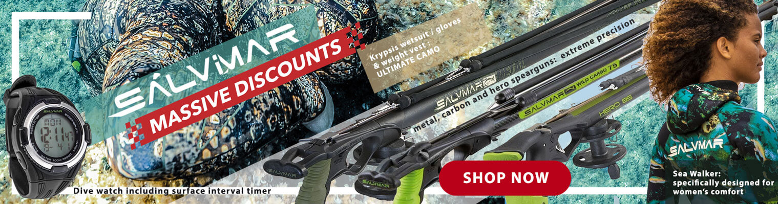 Salvimar sale - spearfishing gear