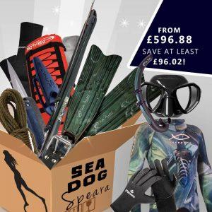 Sea dog spearfishing gear package for spearas / women