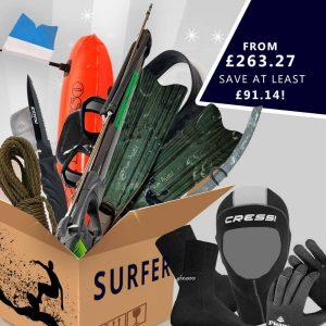 Spearfishing gear surfer package