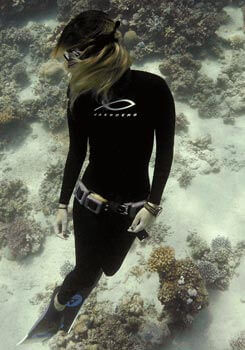 Ladies spearfishing wetsuits