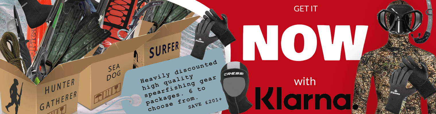 Spearfishing gear packages - June 2021 offer